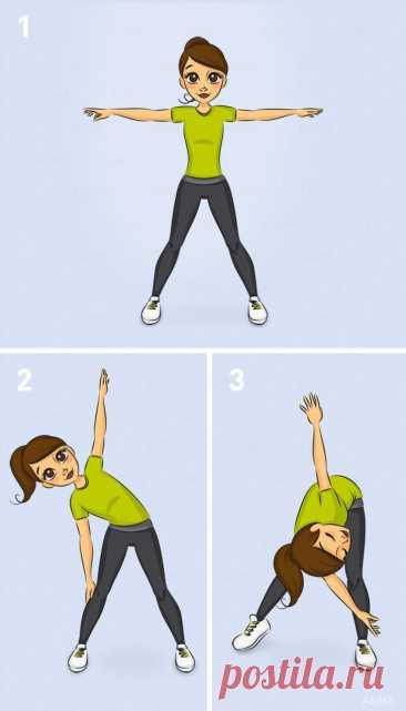 10 упражнений, которые стоит выполнять каждый день, чтобы терять по килограмму в неделю | Диеты со всего света