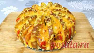 Закусочный пирог из батона   Ольга Лунгу   Яндекс Дзен