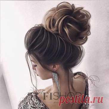 Объемная прическа пучок (на длинные волосы) - купить в Киеве | Tufishop.com.ua Объемная прическа пучок (прическа на длинные волосы). Прически на длинные волосы 2020. Как сделать красивую прическу в домашних условиях. Все для создания причесок в ➦TUFISHOP♥ ✔Доставка по Украине и за границу ✈ ☎: 093 170-22-57