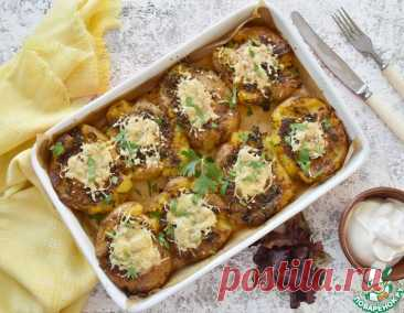 Запеченная мятая картошка – кулинарный рецепт
