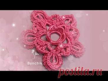 Ажурный мотив крючком от Bynchik