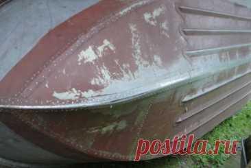 Ремонт алюминиевой лодки своими руками и видео