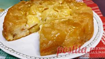 """Янтарный"" пирог с яблоками (много начинки, мало теста) | Розовый баклажан | Яндекс Дзен"