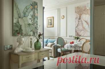 Классический стиль в маленькой квартире: 6 правил от дизайнера | SALON-interior | Яндекс Дзен