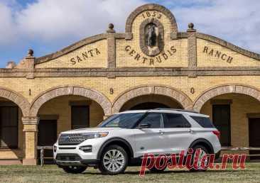 Ford Explorer King Ranch 2021 – фото, видео, цена, характеристики