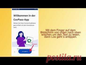 Anleitungsvideo CovPass App - digitaler Impfpass - YouTube