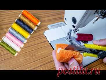 5 Советы и хитрости по шитью | Умная техника шитья для начинающих