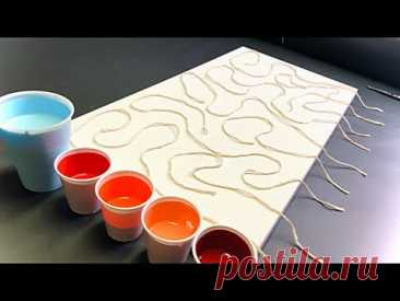 Fluid Art!! 1,2,3,4,5,6,7,8,9 Piece STRING PULL at Once!! GIVEAWAY.. Details in Description!!