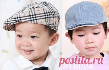 Выкройка детской кепки для мальчика на возраст от 1 до 16 лет