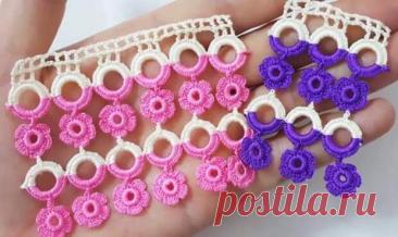 Идеи вязания крючком с кольцами   38 рукоделок   Можно сделать очень интересные и красивые изделия такие, как сумочки, пояса, кайму, подхваты для штор, украшения