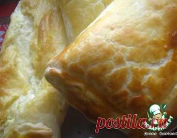 Хачапури слоеный – кулинарный рецепт