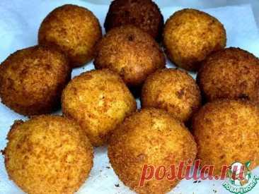 Картофельные шарики с Моцареллой - Поварёнок с лучшими рецептами - медиаплатформа МирТесен