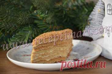 Медовый торт в Грузии. Грузинская сладкая выпечка