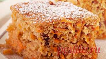 Морковный пирог | Самый простой и вкусный рецепт! Готовлю так уже 10 лет! Проверенный годами рецепт, самый вкусный, простой и легкий в приготовлении - морковный пирог. Готовлю так уже 10 лет. Домашняя выпечка, очень ароматная и воздушная. Обязательно готовьте по этому рецепту!Ингредиенты:   Морковь (очищенная) - 180 г. (1 шт. большая)  Изюм - 50 г.  Вода...