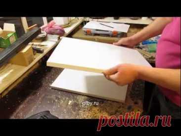 Как установить мебельные петли на шкаф: разметка, монтаж