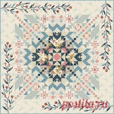 Mystery Quilt 2021. Совместный пошив Загадочного Лоскутного Одеяла от знаменитой Эдиты Ситар!   Пэчворк по-русски🧵   Яндекс Дзен