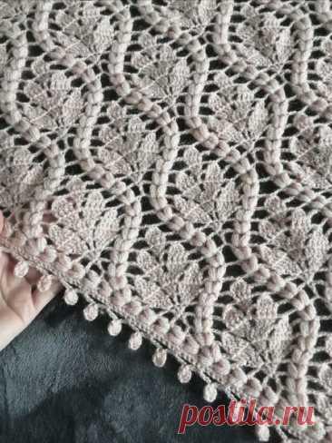 Изумительно красивый узор для вязания Изумительно красивый узор для вязанияИзумительно красивый узор для вязания больше подходит для крупных вещей, где его красоту можно рассмотреть в полной мере.Творите и будьте счастливы, наши дорогие.