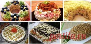 Salatiki cojonudos Hojaldrados: hemos recogido top 9 Mejor Retseptikov