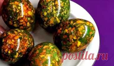 Как красить яйца на Пасху в 2021 году | 8 способов