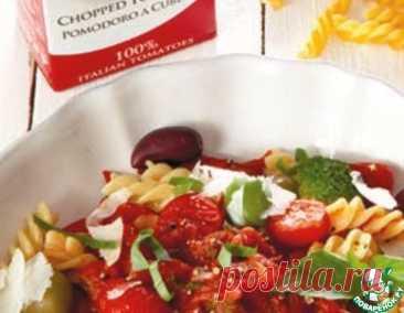 Фузилли по-средиземноморски – кулинарный рецепт