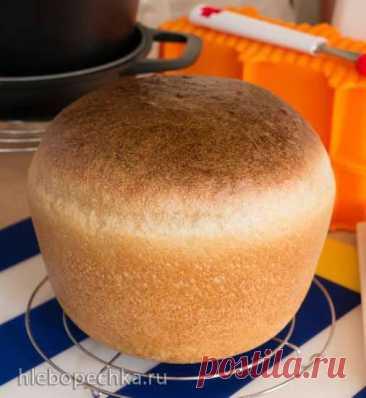 Мой любимый пшенично-ржаной хлеб на «вечной» закваске для духовки