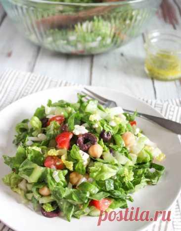 Салат с нутом, подробный рецепт с фото   OnlyVEG
