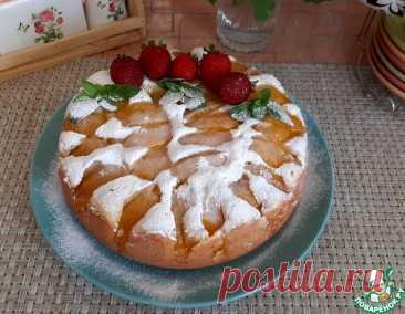 Творожный пирог с персиками в мультиварке – кулинарный рецепт