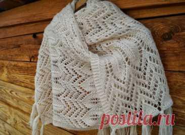Вязаные шарфы спицами 2021-2022 — Dizаks: Дизайн & Аксессуары