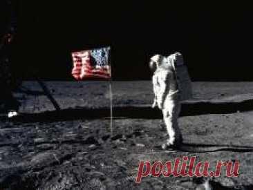 Сегодня 21 июля в 1969 году Человек впервые ступил на поверхность Луны