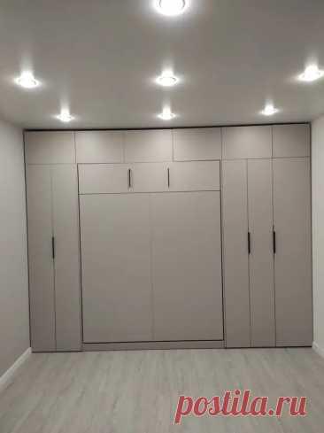 (28) Шкаф кровать или как хочется всё и вся в однушке - Квартира, дом, дача - медиаплатформа МирТесен