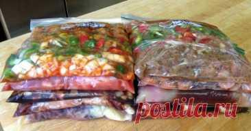 Овощные замороженные смеси