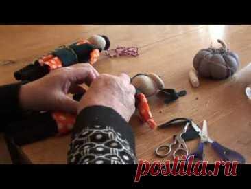 """Мир народной куклы: Игровая кукла """"Мужичёк"""", часть 2"""
