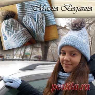 Вязаные шапки. Выбираем самую красивую. | Магия Вязания / Knitting Magic | Яндекс Дзен
