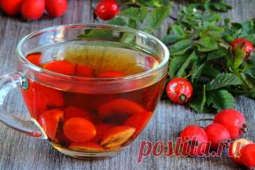 Отвар, чай и настой шиповника для похудения
