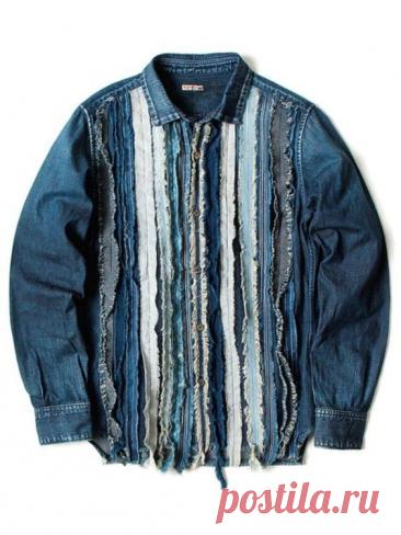 Переделываем старые джинсы в новые вещи - туники, топы, куртки и т.д. Идеи и примеры для вдохновения!