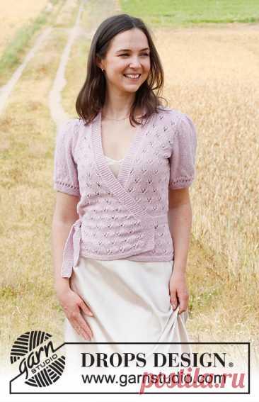Жакет Flower Wish Wrap - блог экспертов интернет-магазина пряжи 5motkov.ru