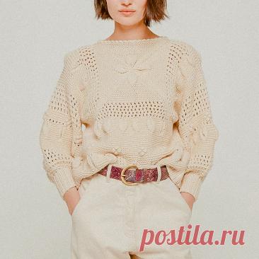 Модный тренд — имитация мотивов. Как вязать, чтобы потом не сшивать   Вязунчик — вяжем вместе   Яндекс Дзен