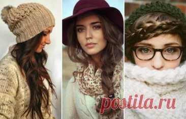Прически, которые не испортит шапка: идеи, фото