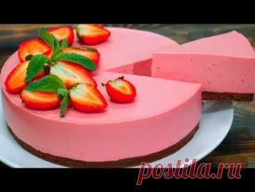 Нежный ягодный чизкейк! Без выпечки | ENG Sub | Кулинарим с Таней