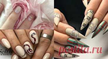 Эти ногти как GUCCI: отпадный маникюр!!! | Nailspiration.net
