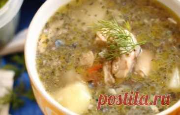 Очень вкусный суп из консервированной скумбрии