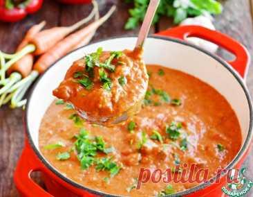 Говядина в соусе из овощей – кулинарный рецепт
