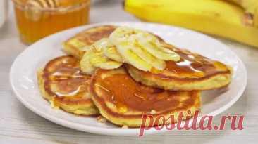 Как приготовить банановые оладьи на завтрак - Infozoid.ru - медиаплатформа МирТесен