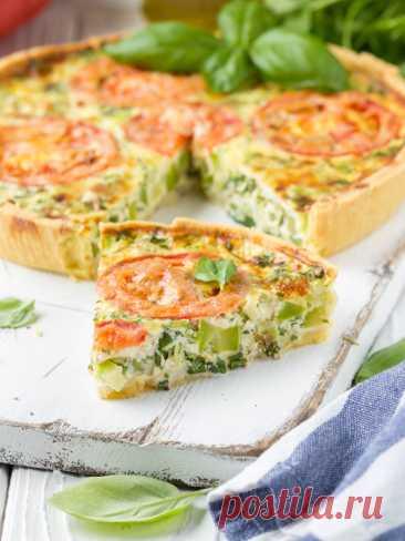 Киш с овощами рецепт с фото пошагово Киш с овощами - пошаговый кулинарный рецепт приготовления с фото, шаг за шагом.