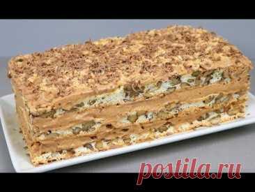 """Торт """"Королевский""""! Самый вкусный торт без муки ! Уникальный рецепт"""