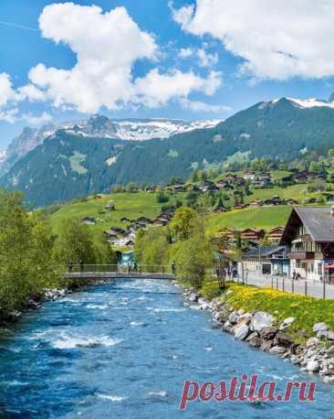Волшебные пейзажи Швейцарии