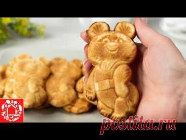 Рецепт Печенья «Олимпийский Мишка». Все просто и вкусно.