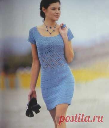 Платья крючком: винтаж и ретро. Фото для вдохновения | Вязание и творчество | Яндекс Дзен
