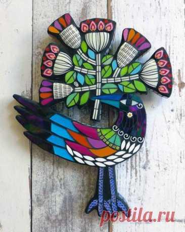 Mosaicos contemporáneos de Amanda Anderson - encontrado