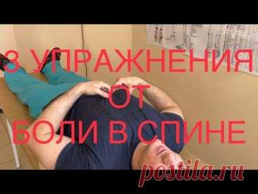 Три упражнения чтобы выпрямить спину - YouTube